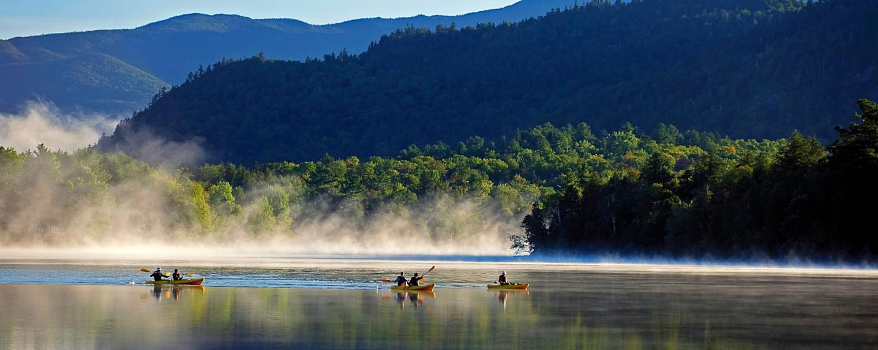 Mirror Lake-Whiteface Mountain, Adirondacks