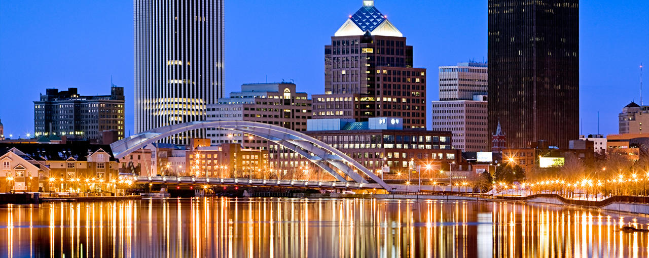 Downtown Rochester Skyline - Photo by VisitRochester