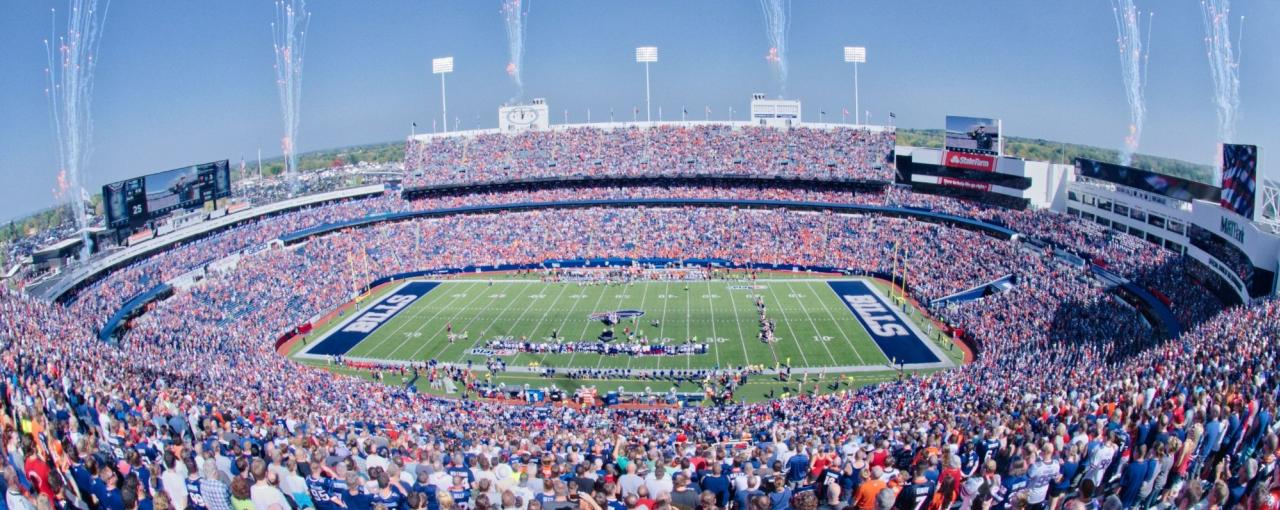 Buffalo Bills Football; Credit: Buffalo Bills