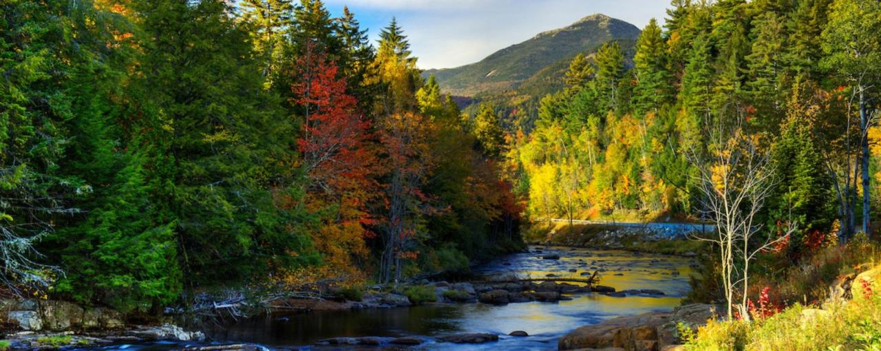 Whiteface Mountain and Ausable River