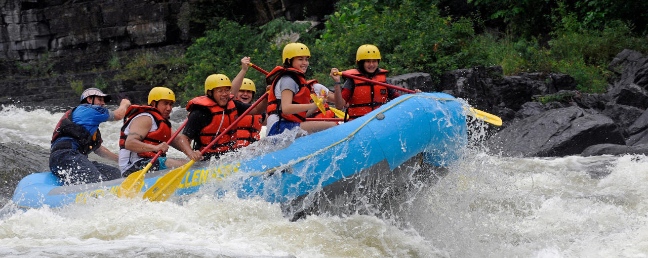 Rafting on the Black River in the Thousand Island