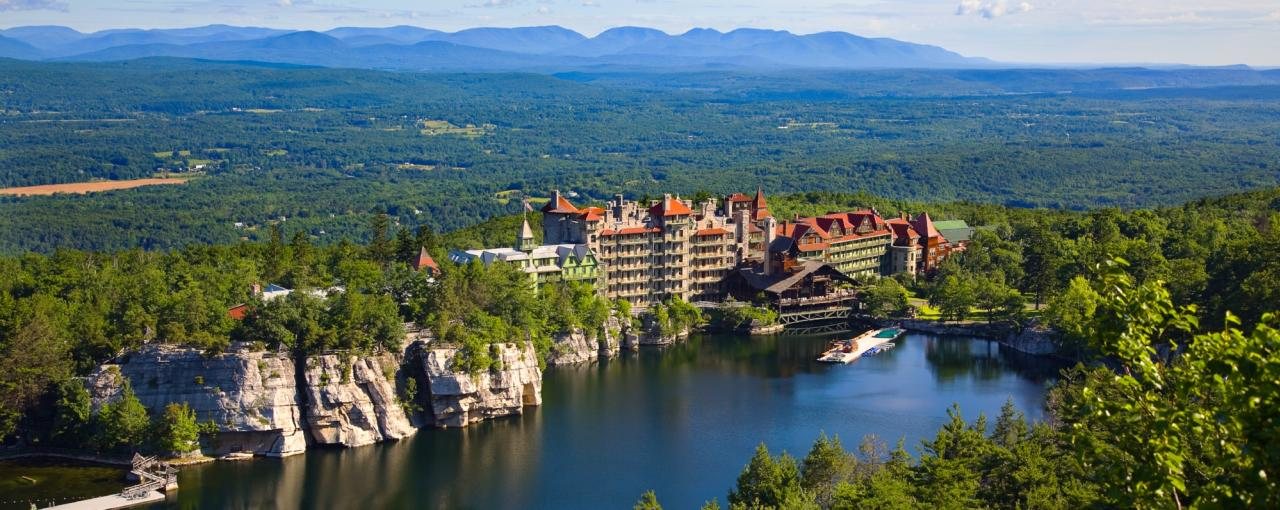 Mohonk Mountain House in Summer - Jim Smith Photography