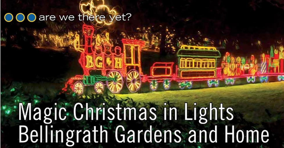 Magic Christmas in Lights, Bellingrath Gardens and Home