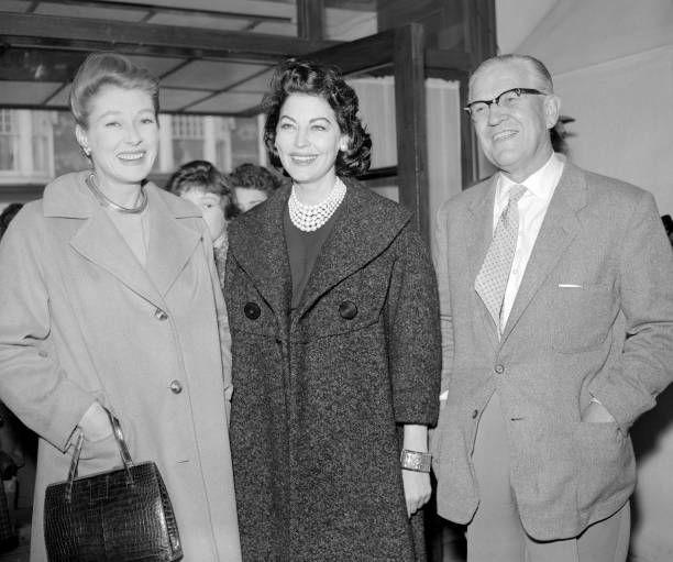 Ava Gardner with the McIndoes