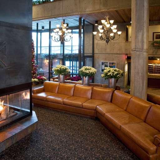 Iron Blosam Lobby at Snowbird
