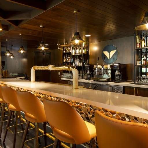 Snowbird's new restaurant SeventyOne at the bottom of The Cliff Lodge.
