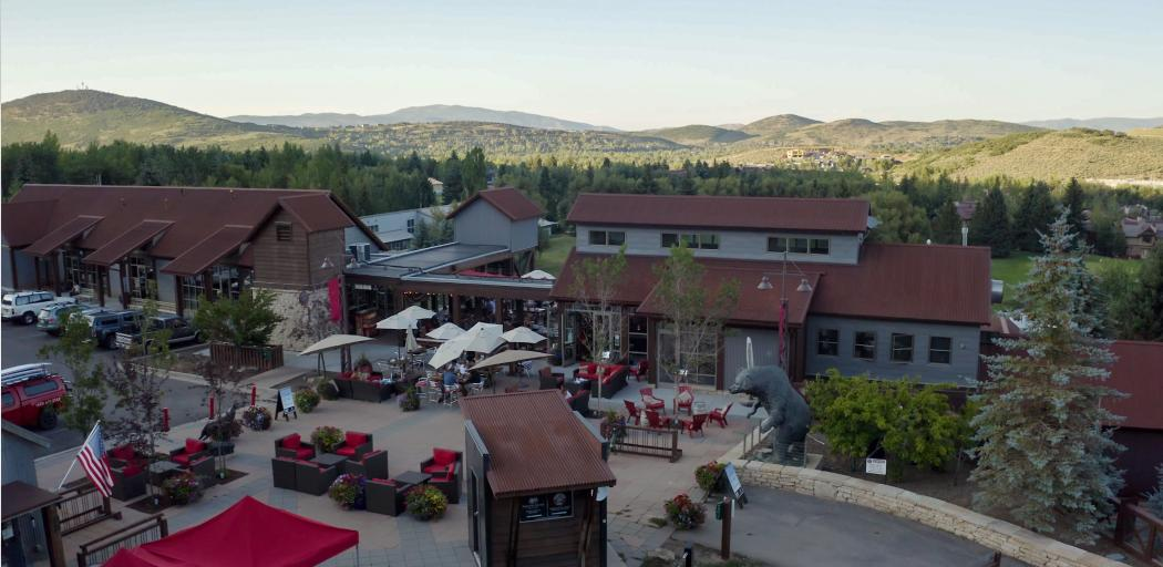 Ariel view of Silver Star Cafe