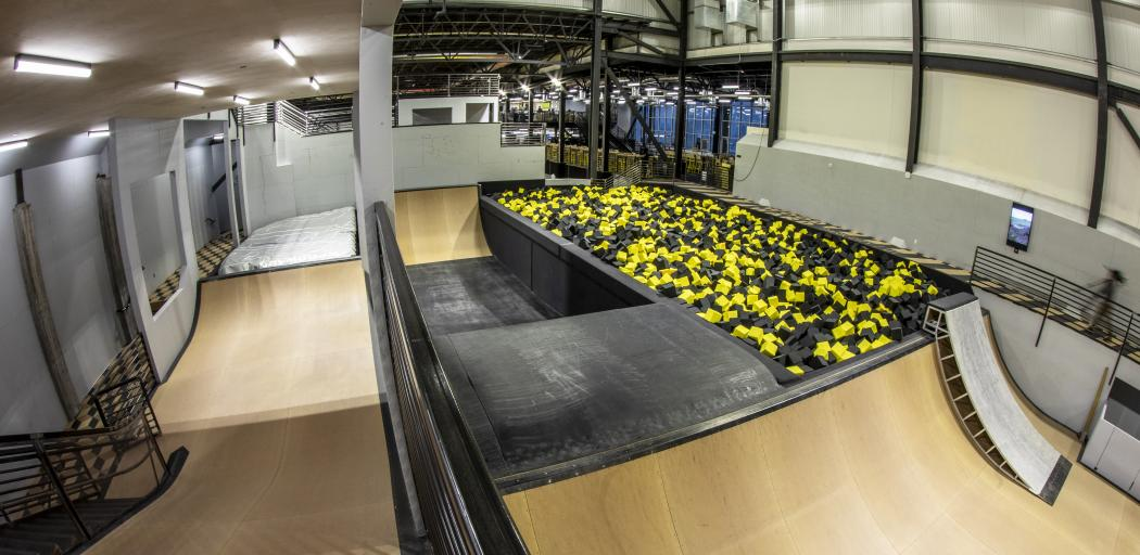 Indoor Action Sports Park at Woodward Facility