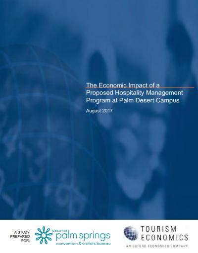 The Economic Impact of a Proposed Hospitality Management Program