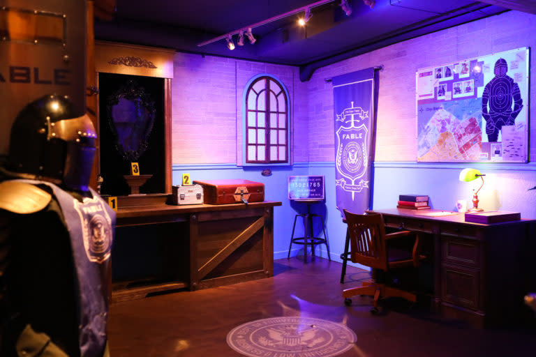 Mission Escape Rooms - Once Upon a Crime room