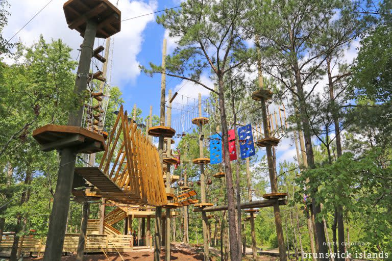 Playground at the Swamp Park in Shallotte, NC
