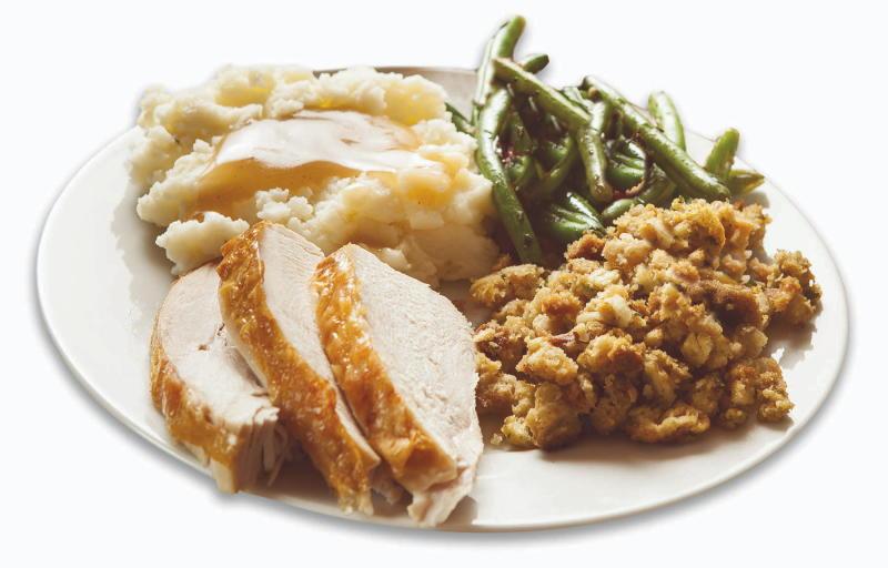 Turkey Dinner from Hog Wild Barbeque