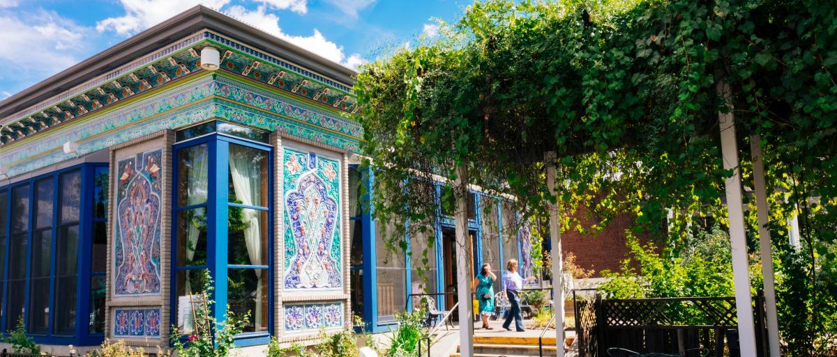 Boulder Dushanbe Teahouse Patio