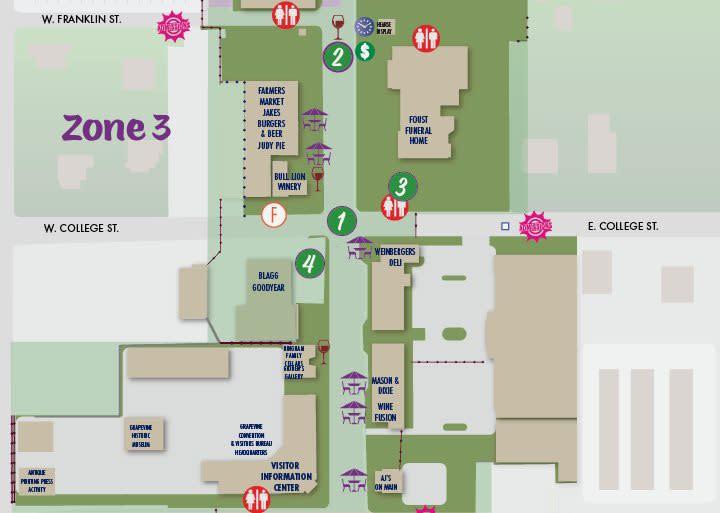 Main Street Fest Map 3