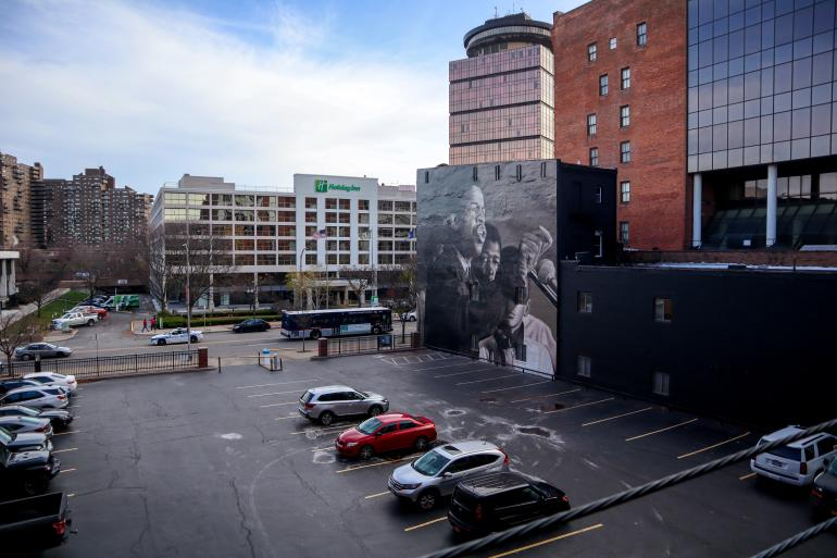 John Lewis Mural in Rochester, NY
