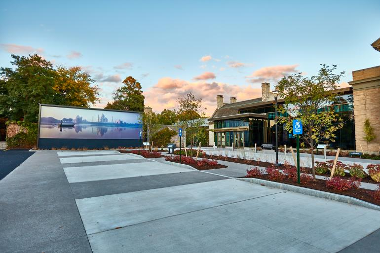 Thomas Tischer Visitor Center at George Eastman Museum