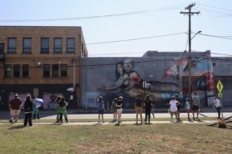 Murals at Rochester Public Market