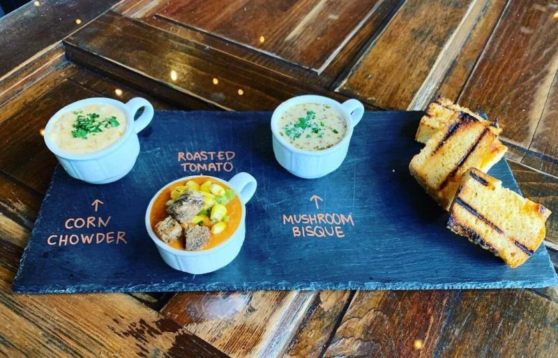 A soup flight from Southern Stone