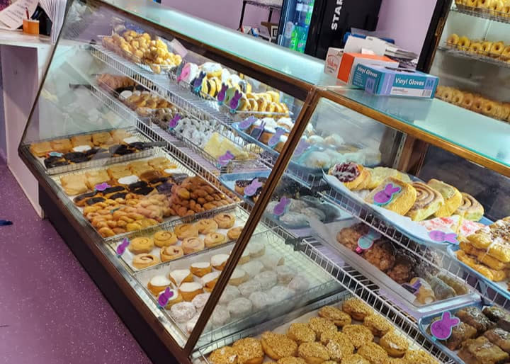 Choose your sweet breakfast treat at Knead the Dough Bakery in Martinsville.