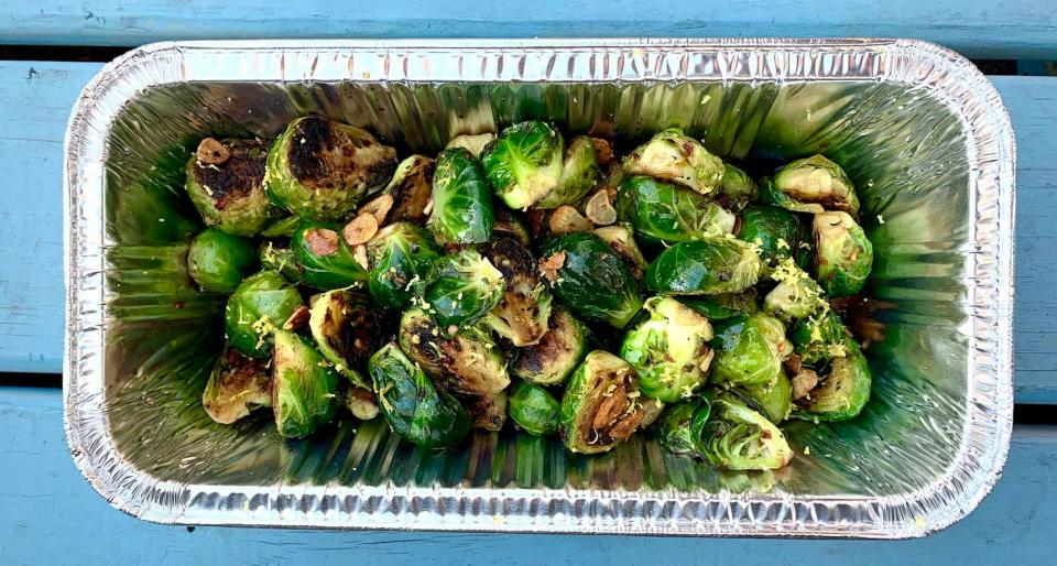 Brussel Sprouts from Public at the Brickyard