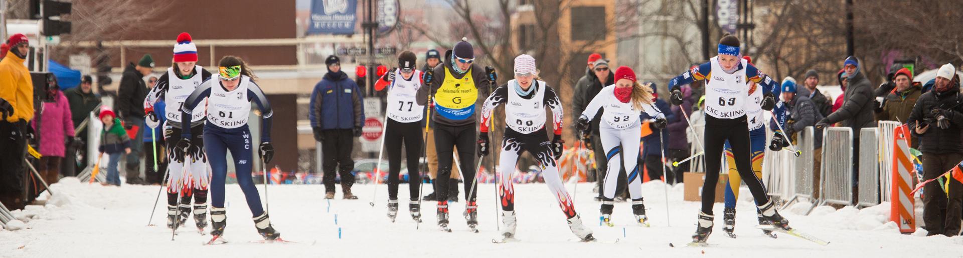 Skiing at WinterFest