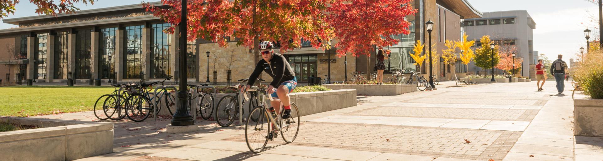 Biking around UW Campus