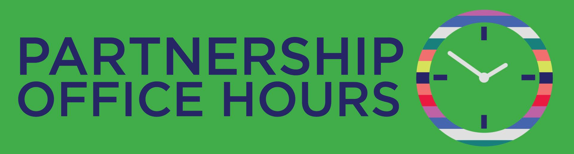 Partnership Office Hours Header