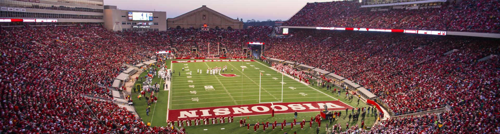 Badger Football at Camp Randall