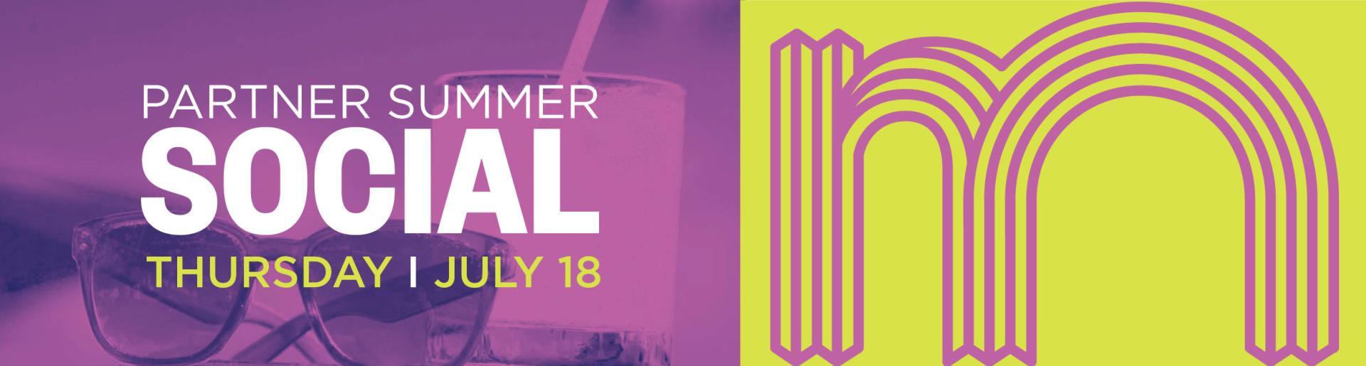Partner Summer Social 2019 :: Internal Header