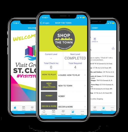 St. Cloud Visitor Passports App