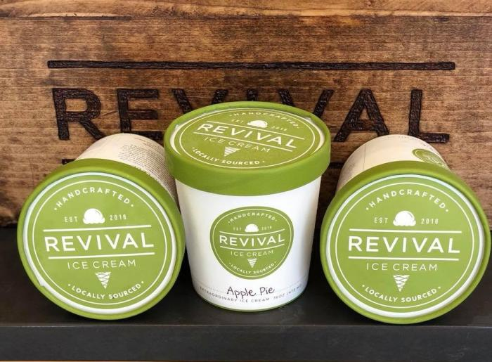 Revival ice cream - crop