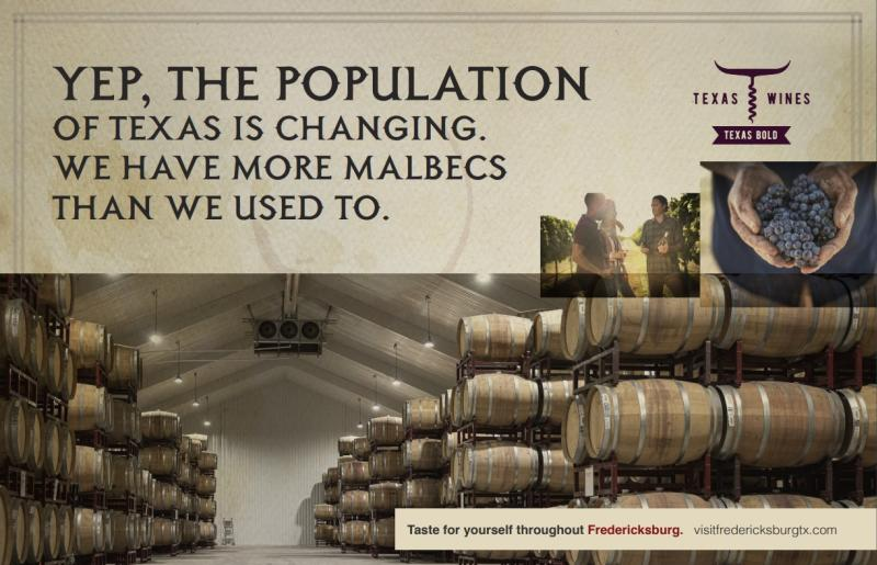 May Graphic Graphic for Wine Campaign - Barrel Room