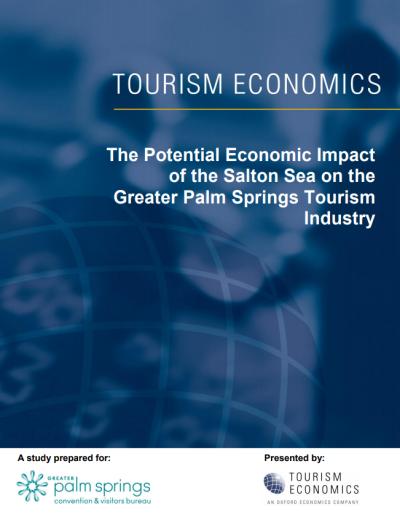 Salton Sea Economic Impact Study