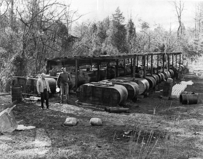 Franklin County Moonshine Still