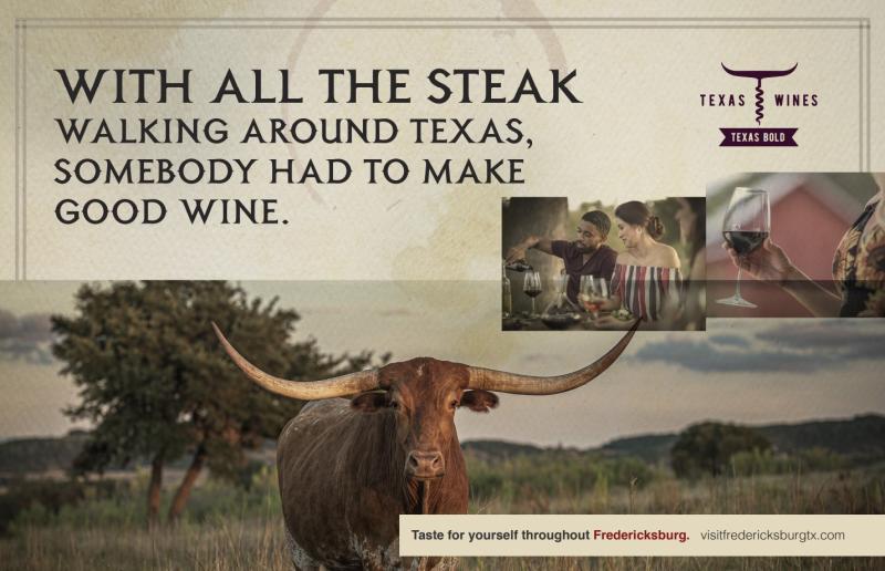 Perfect Pairing of Texas Wine & Steak