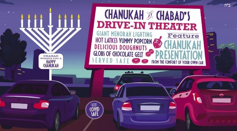 Chanukah Drive Through Theater