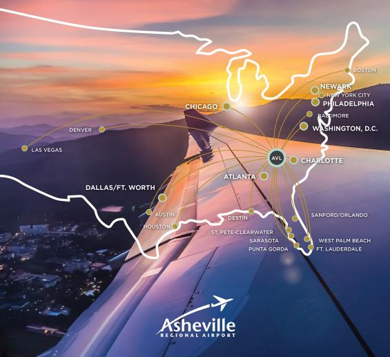 AVL destination map March 2021