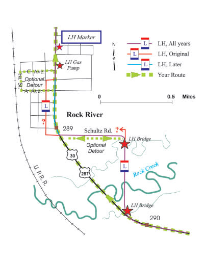 Lincoln Highway Map-10-Rock-River