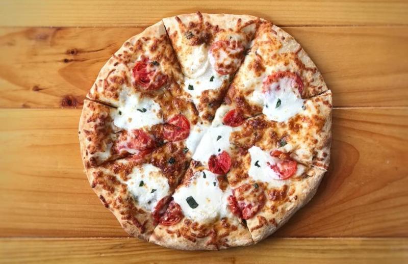 Margherita Pizza from Trailhead Pizzeria
