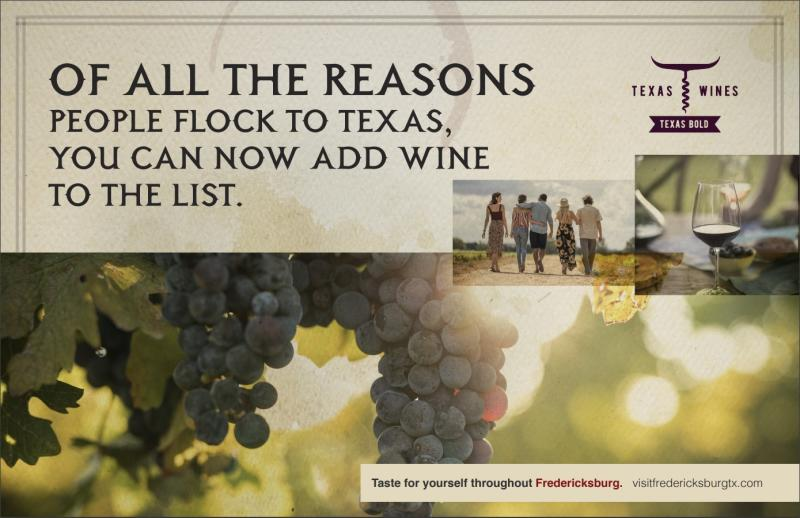 April Graphic Graphic for Wine Campaign - horse in field.