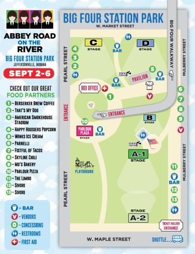 Abbey Road Map 2021