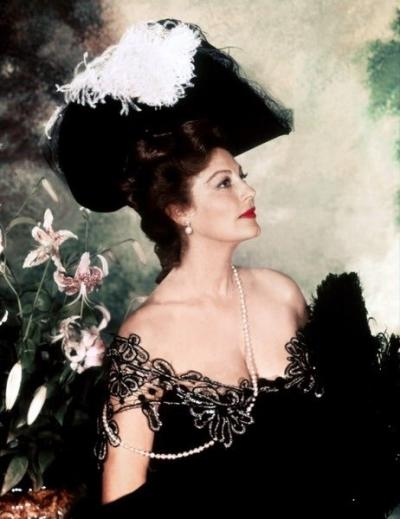 Ava Gardner as Lily Langtry in The Life and Times of Judge Roy Bean