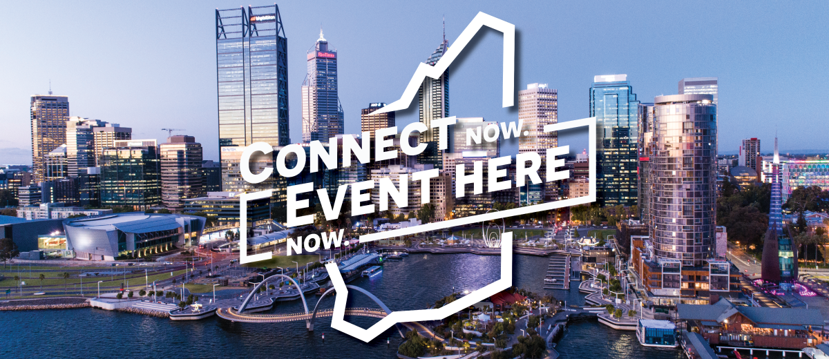 Event Here Now. Connect Now. - SUBPAGE BANNER