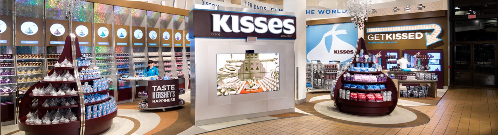 Hershey Kiss Shop