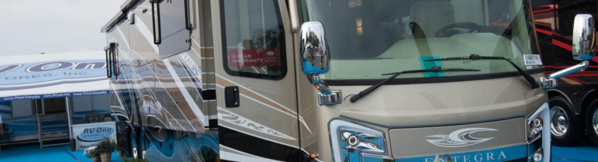 See acres of RVs in Hershey PA at America's Largest RV Show