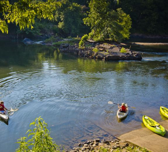 Oconee River Greenway kayaking