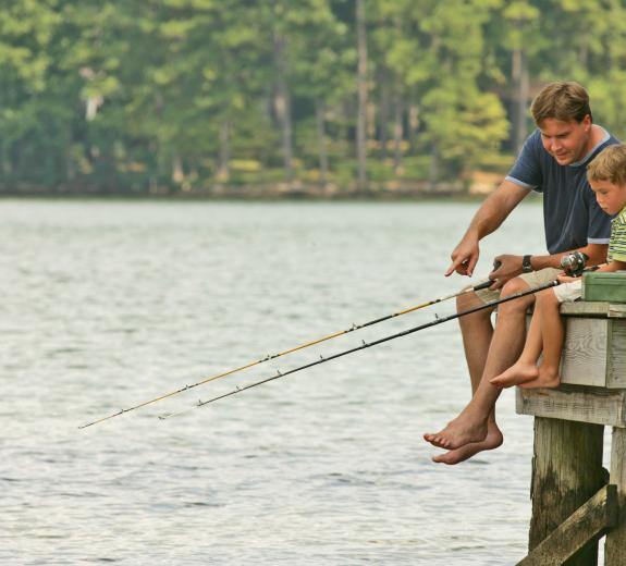 Lake Sinclair Fishing