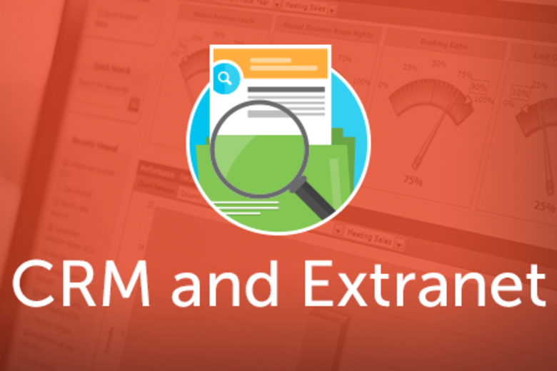 CRM and Extranet Case Study Headers