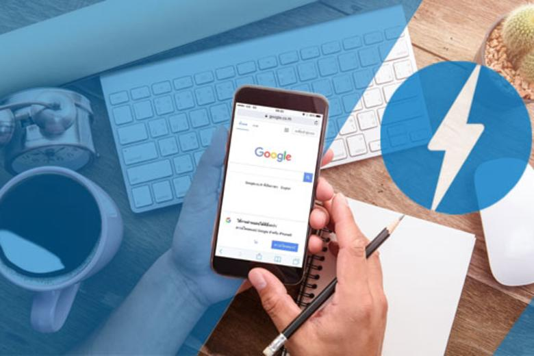 Google Amp Blog Header
