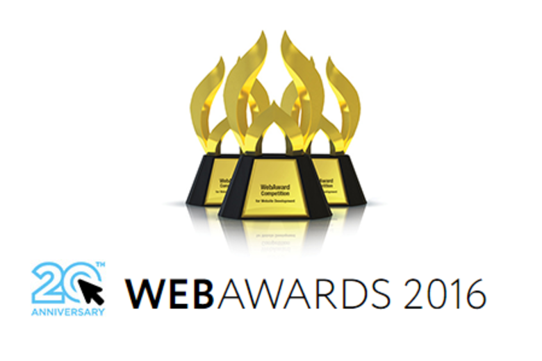 2016 WebAwards Header
